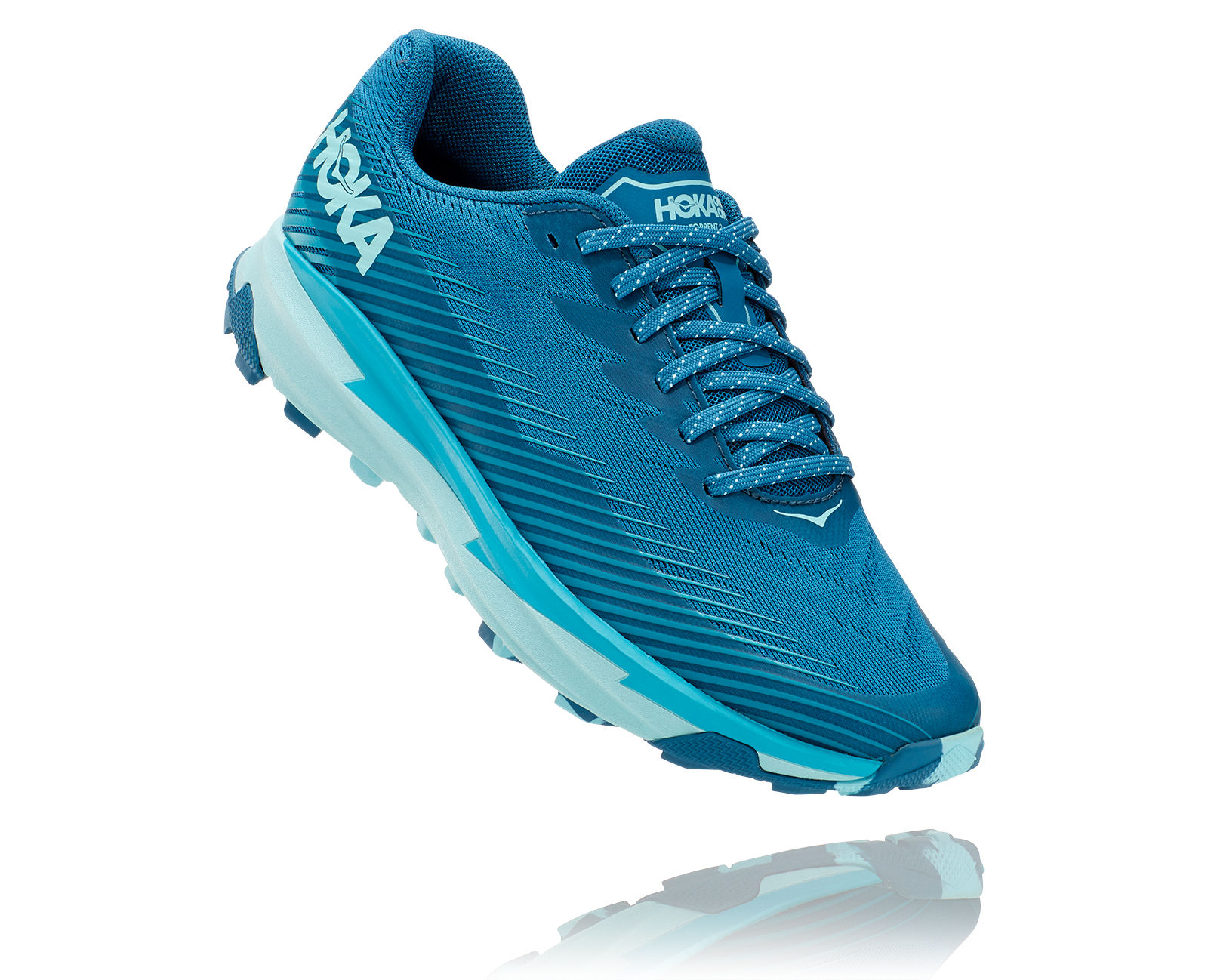 Hoka One One Lady Torrent 2 (Blau Türkis)