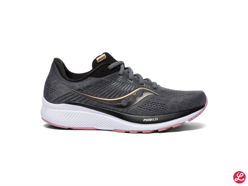 Saucony Lady Guide 14 (Charcoal Rose)