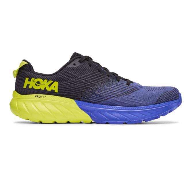 Hoka One One Mach 3 (Schwarz Gelb Blau)