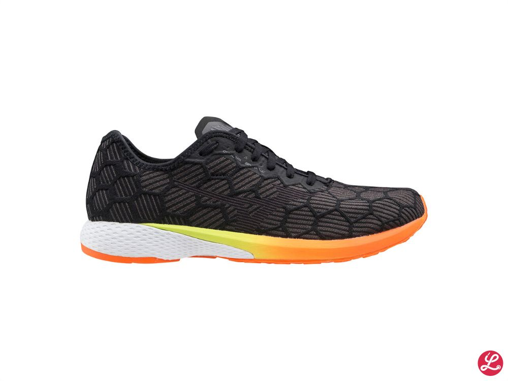 Mizuno Wave Aero 18 (Black Jet Black Sh. Orange)