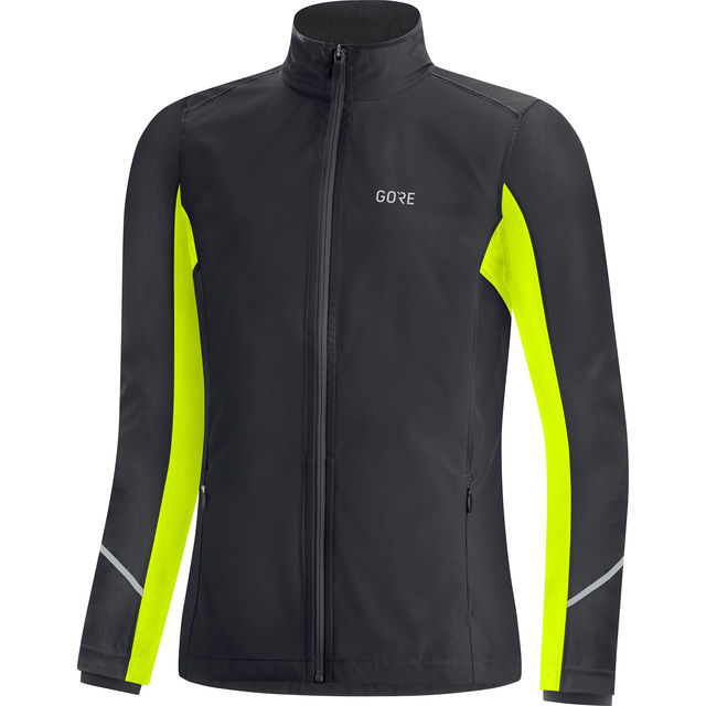 Gore Lady R3 Gore-Tex Infinium Partial Jacket (Black Neon)