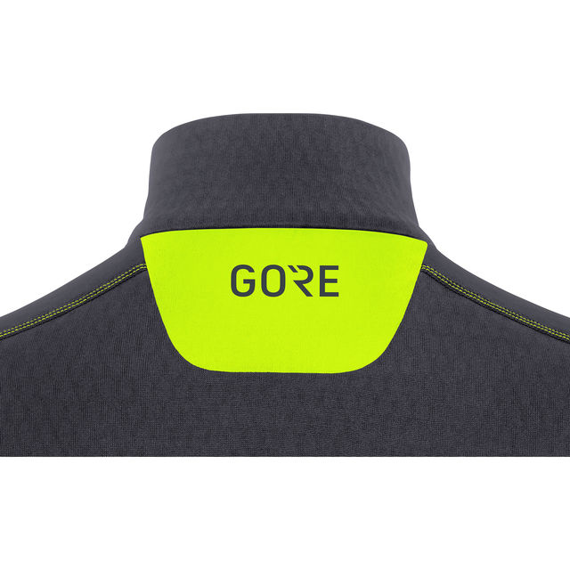 Gore Lady Thermo LS Zip Shirt (Black Neon)