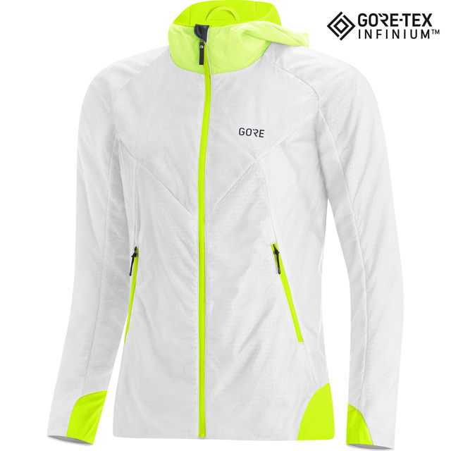 Gore Lady Gore-Tex Infinium Insulated Jacket (White Neon)