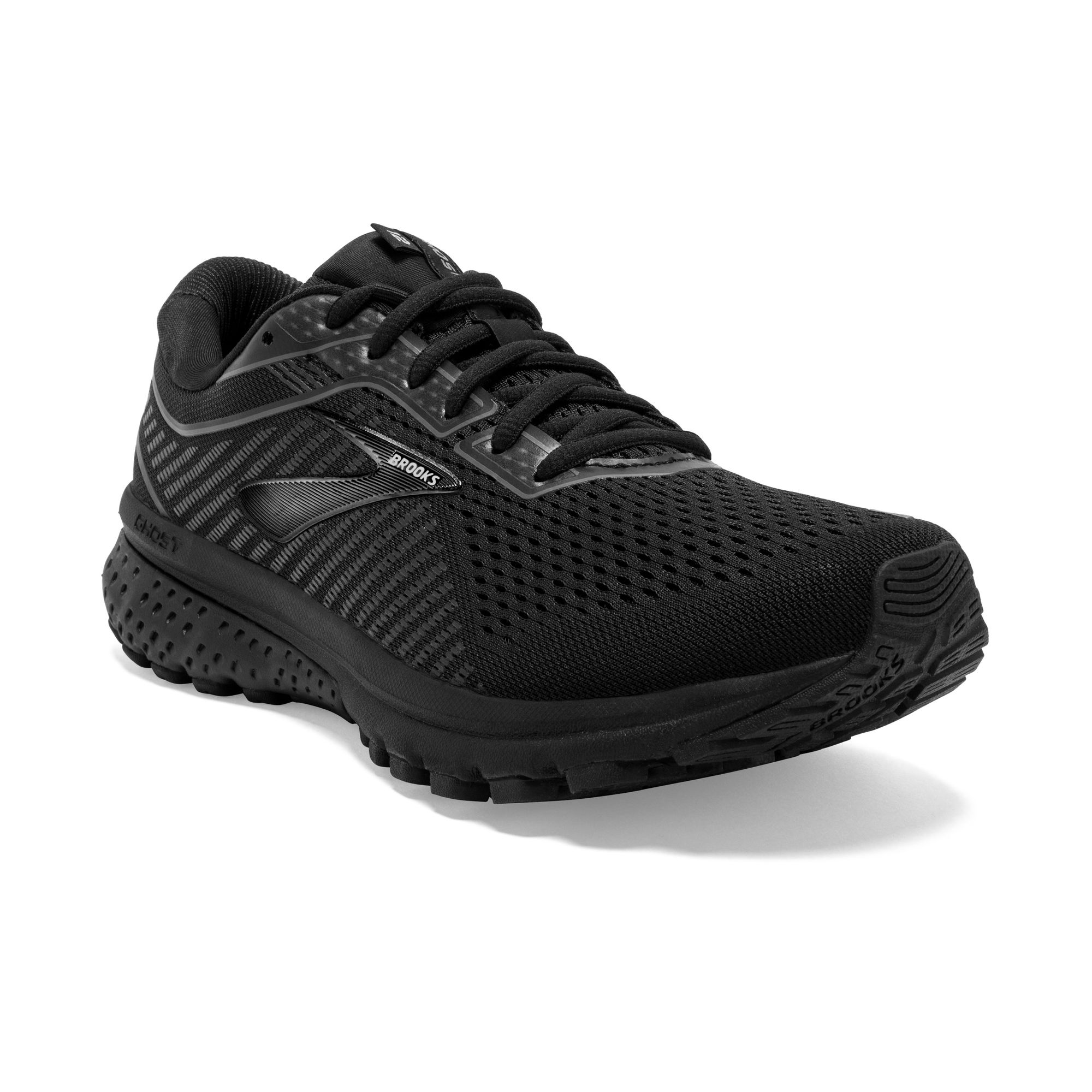 Brooks Lady Ghost 12 All Black D (Schwarz)