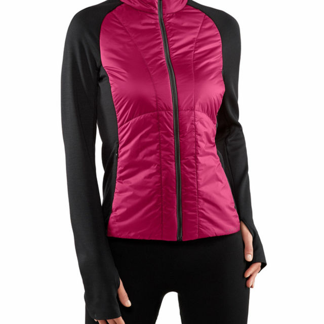 Falke Damen Padded Jacket (Sangria)