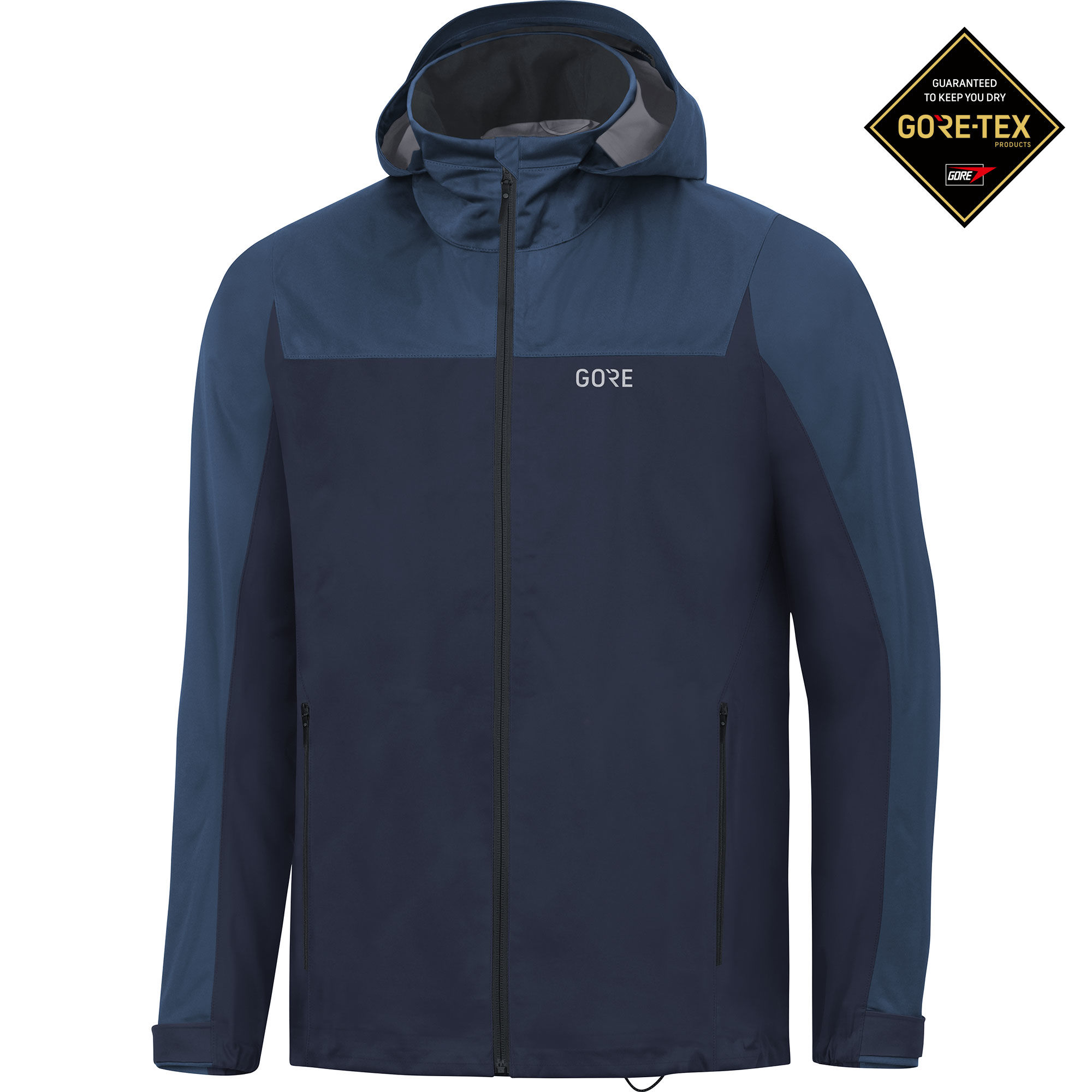 Gore R3 GTX Active Hooded Jacket (Dunkelblau)