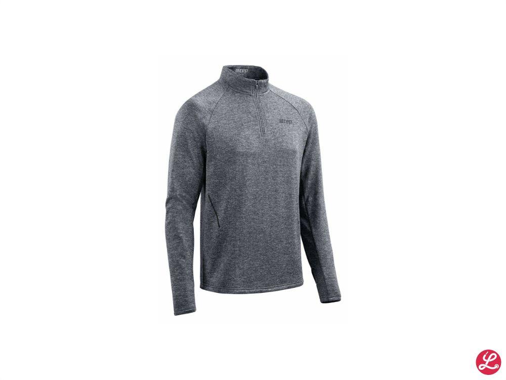 cep Winter Run Shirt (Black Melange)
