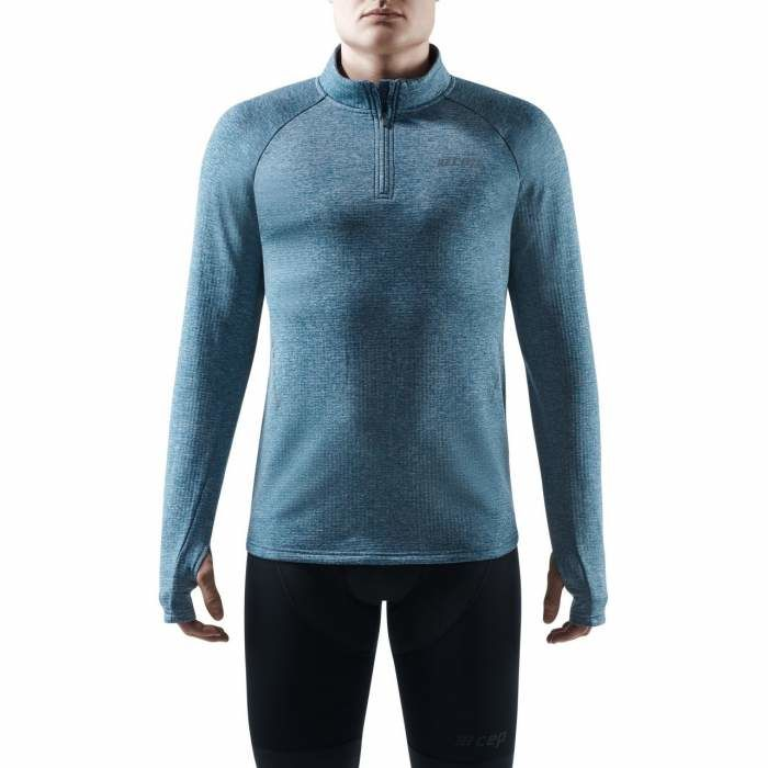 cep Winter Run Shirt (Blue Melange)