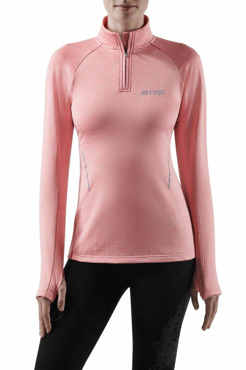 cep Women Winter Run Shirt (Rose Melange)