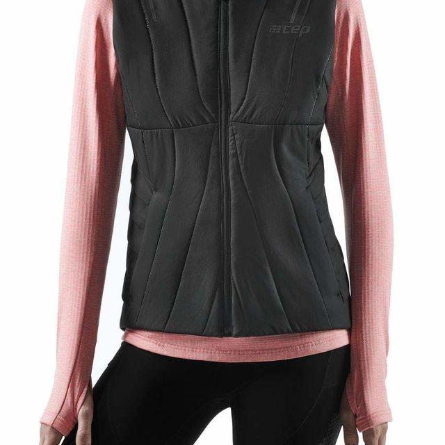 cep Women Winter Run Vest (Black)