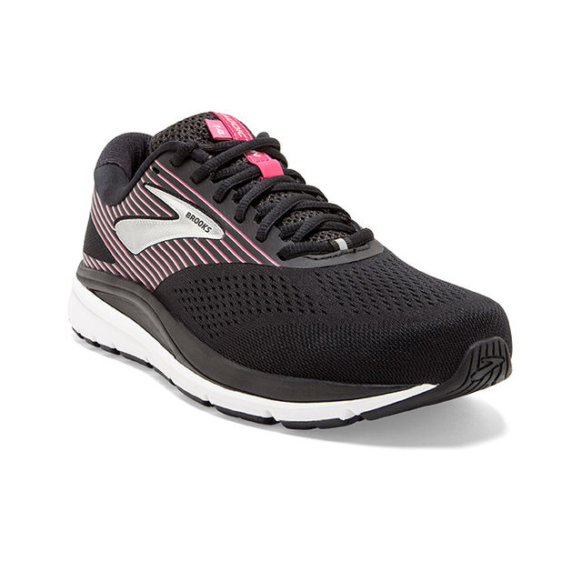 Brooks Lady Addiction 14 B (Schwarz Rosa)