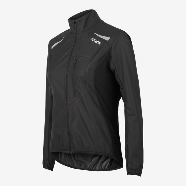 Fusion Women S1 Run Jacket (Black)