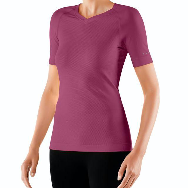 Falke Lady Short Sleeve Shirt Cool (Lila)