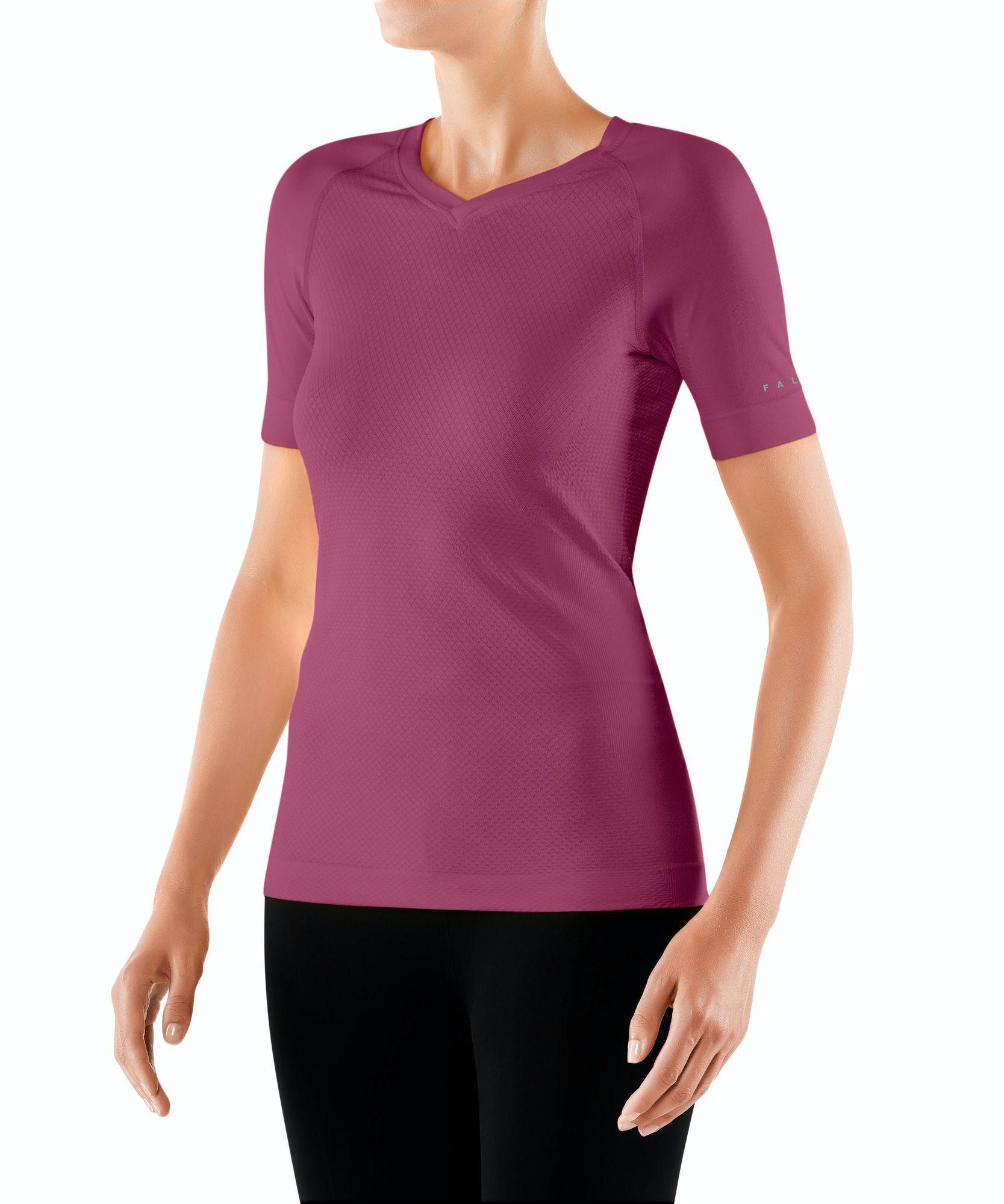 Falke Lady Short Sleeve Shirt Cool (Lila)