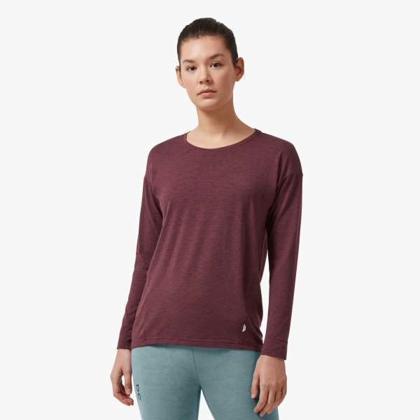 ON Lady Comfort Long-T (Mulberry)