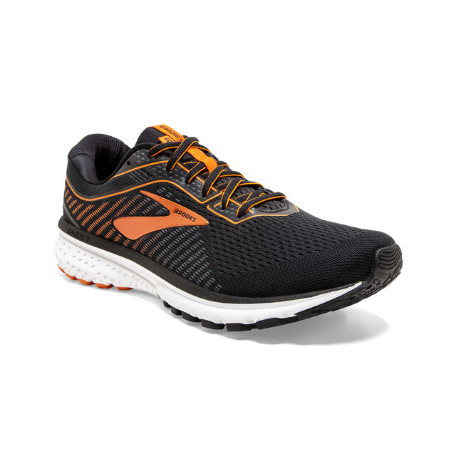 Brooks Ghost 12 (Schwarz Orange)