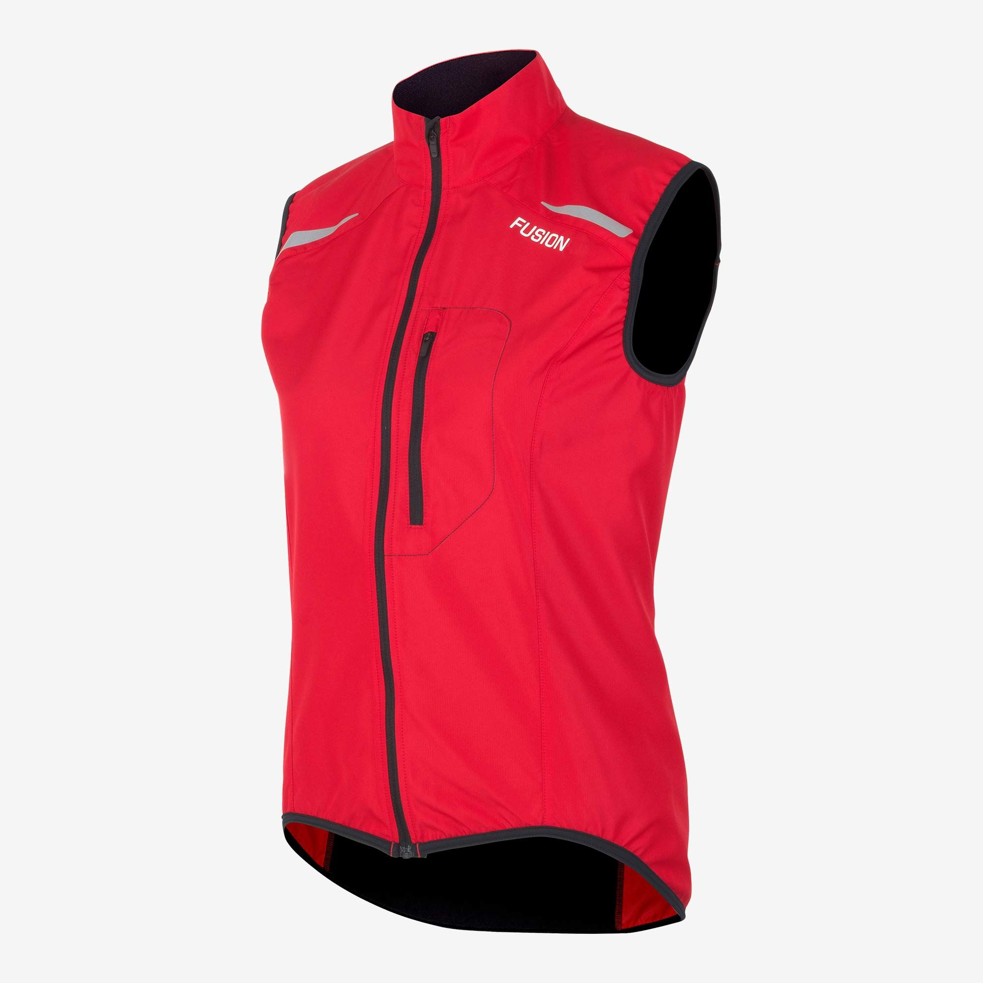 Fusion Women S1 Run Vest (R Ed)