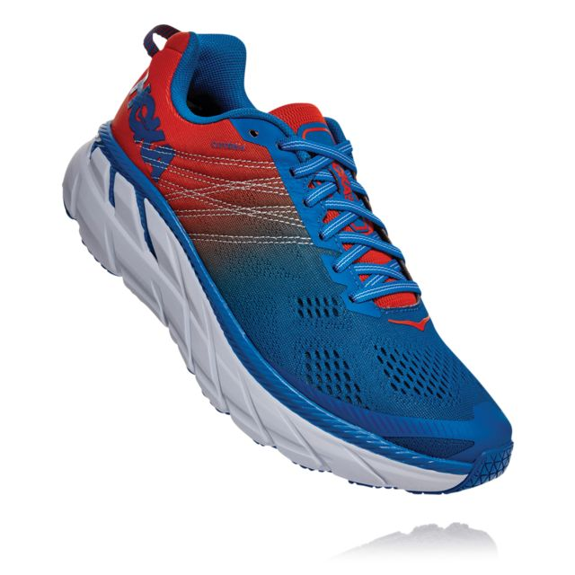 Hoka One One Clifton 6 (Blau Rot)