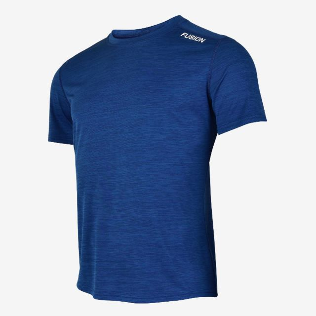 Fusion C3 T-Shirt (Night Blue  Melange)