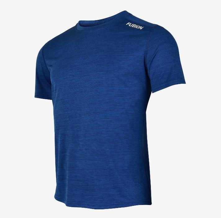 Fusion C3 T-Shirt (Night Blue  Melange)