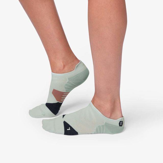 ON Lady Low Sock (Grey Midnight)