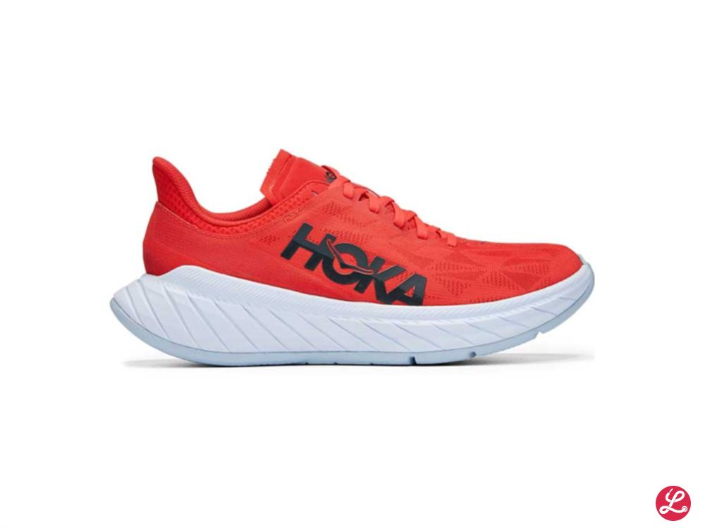 Hoka One One Carbon X 2 (Fiesta White)