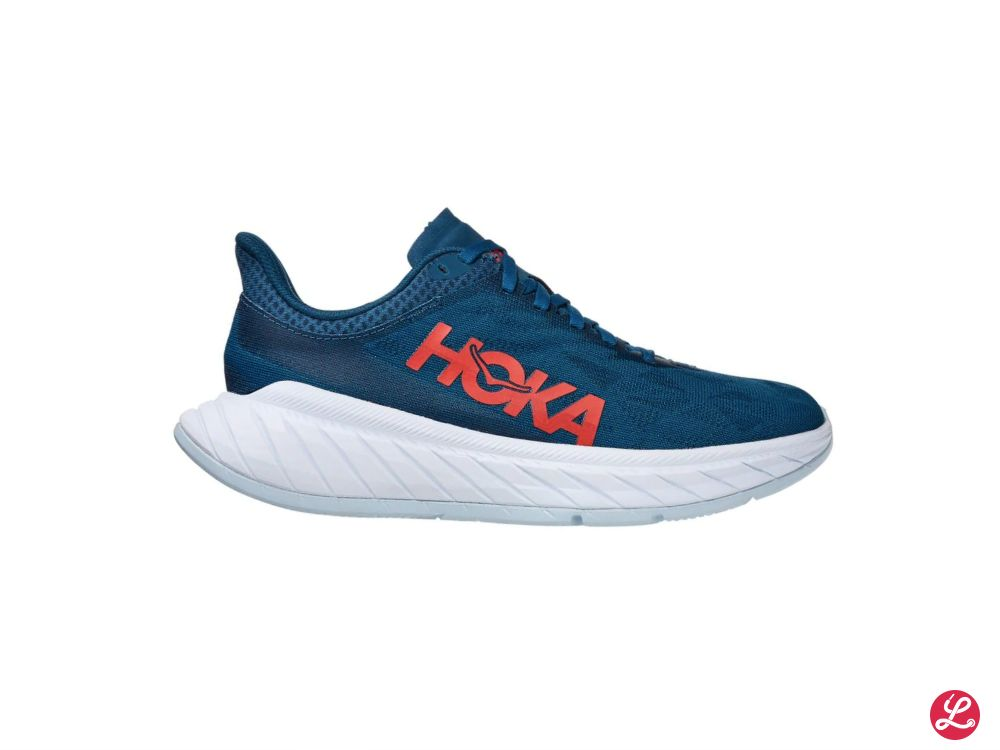 Hoka One One Lady Carbon X 2 (Maroccan Blue Hot Coral)