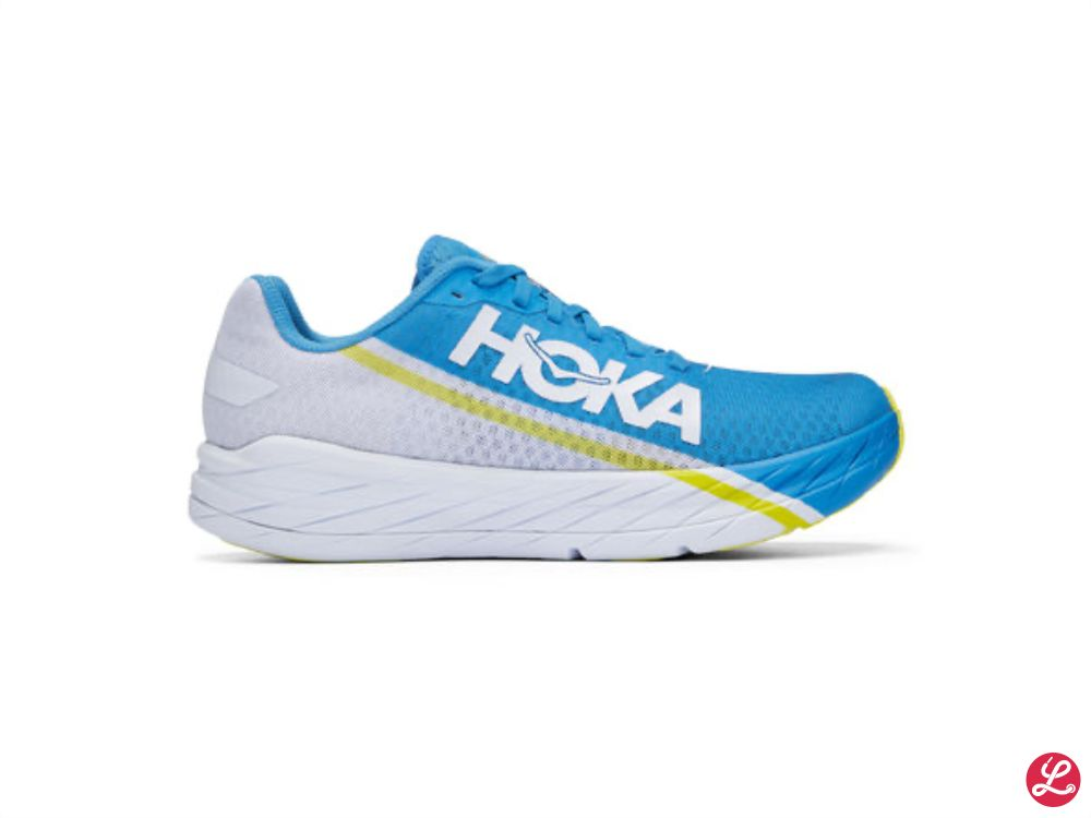 Hoka One One Rocket X (Blau Weiß)