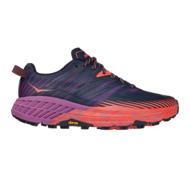 Hoka One One Lady Speedgoat 4 (Outer Space Hot Coral)