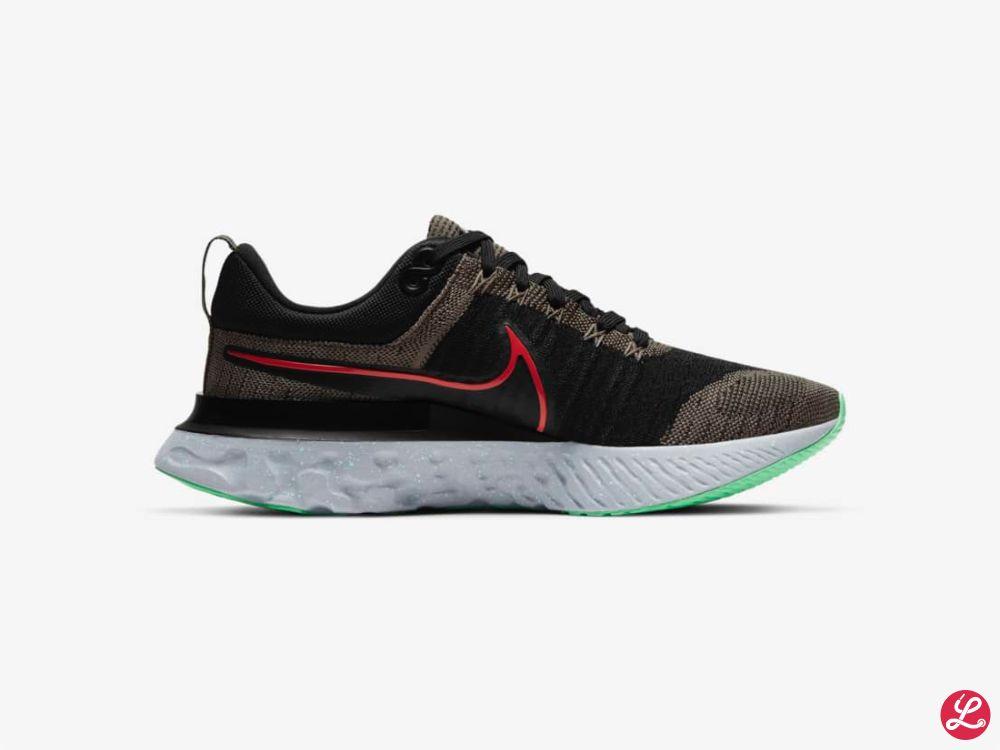 Nike React Infinity Run 2 (Schwarz Grau Rot)