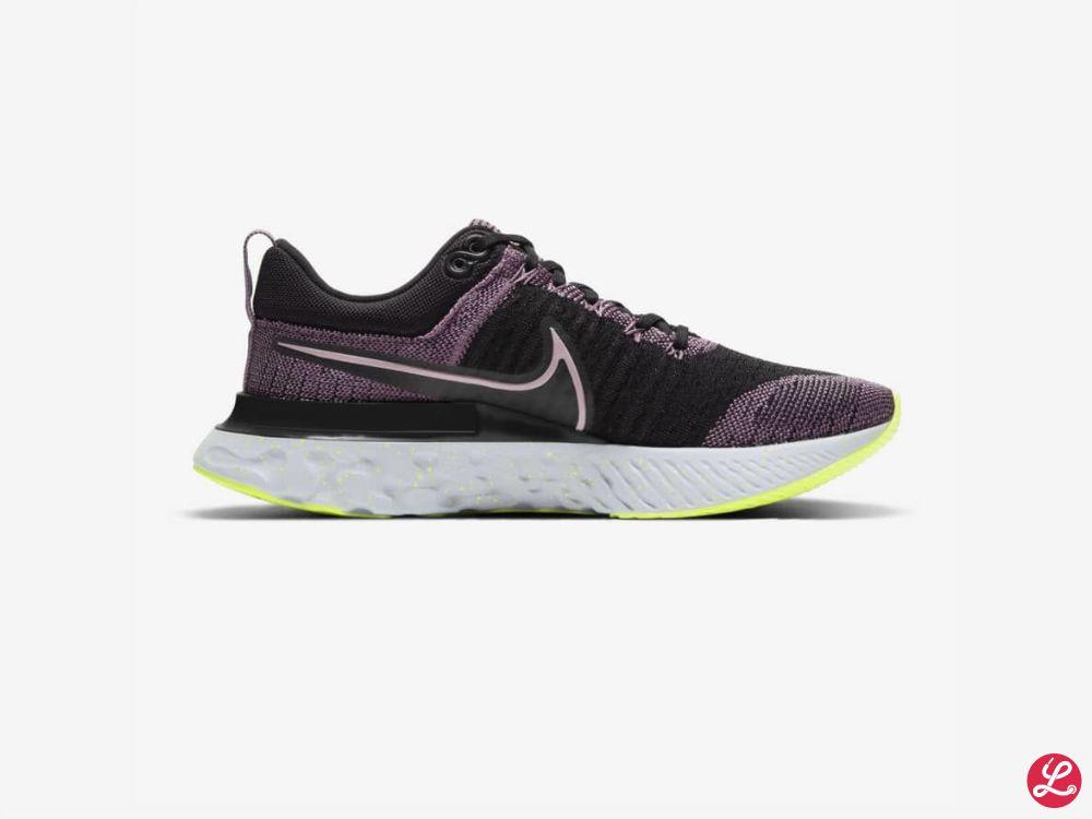 Nike Lady React Infinity Run 2 (Schwarz Rosa)