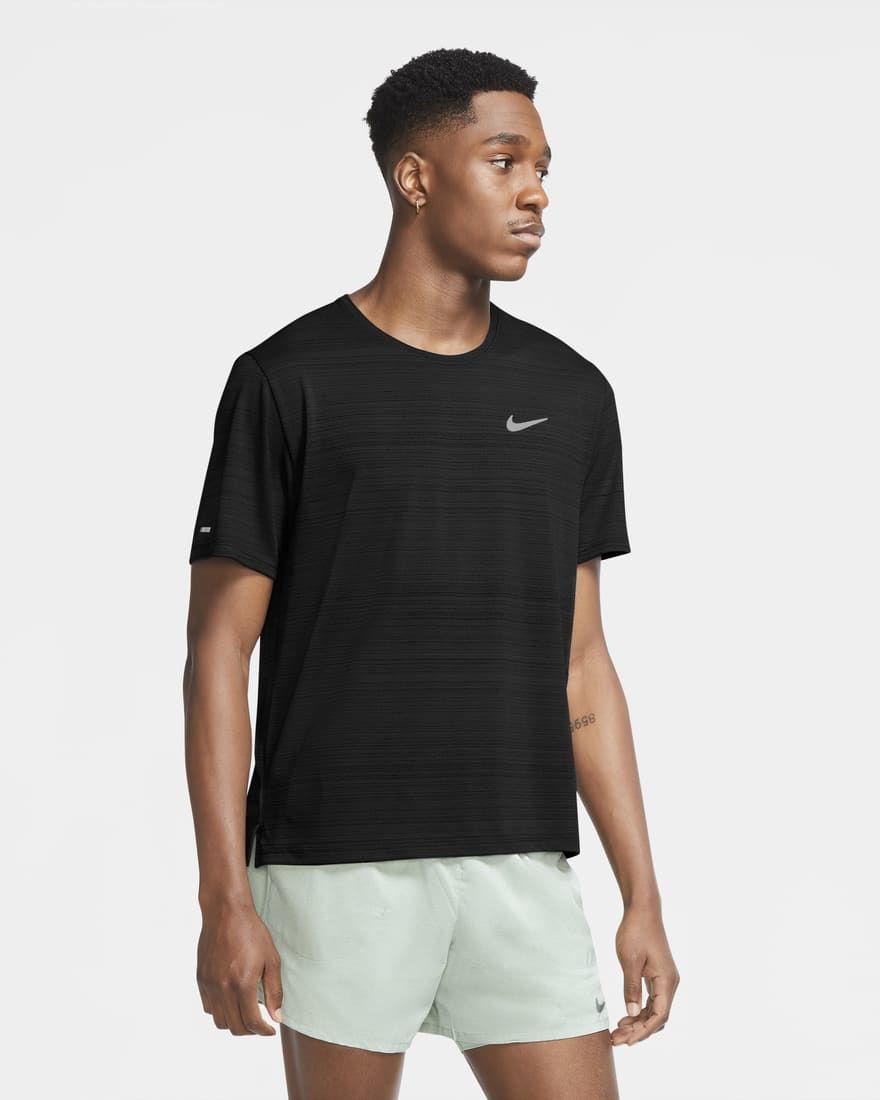 Nike DF Miler Top SS (Black)