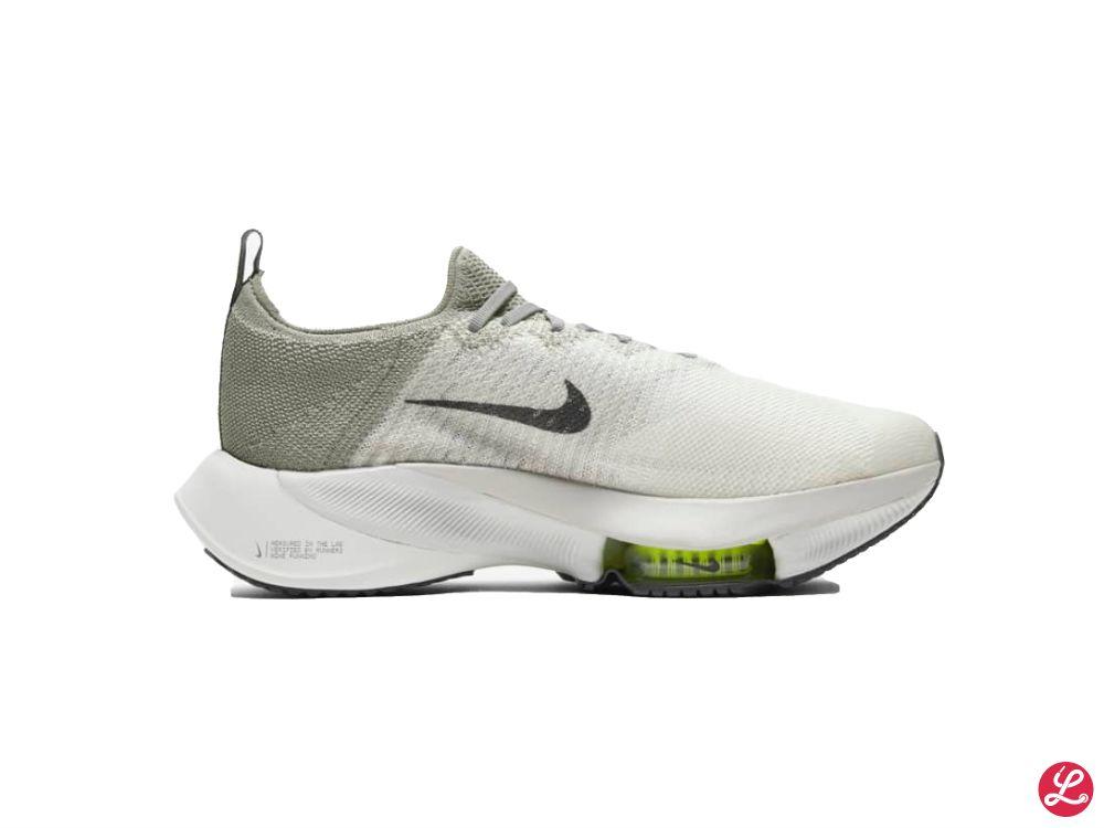 Nike Air Zoom Tempo Next% FK (Weiß Grau)