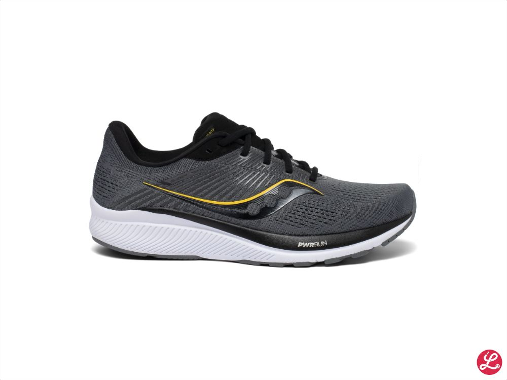 Saucony Guide 14 (Charcoal Vizgold)