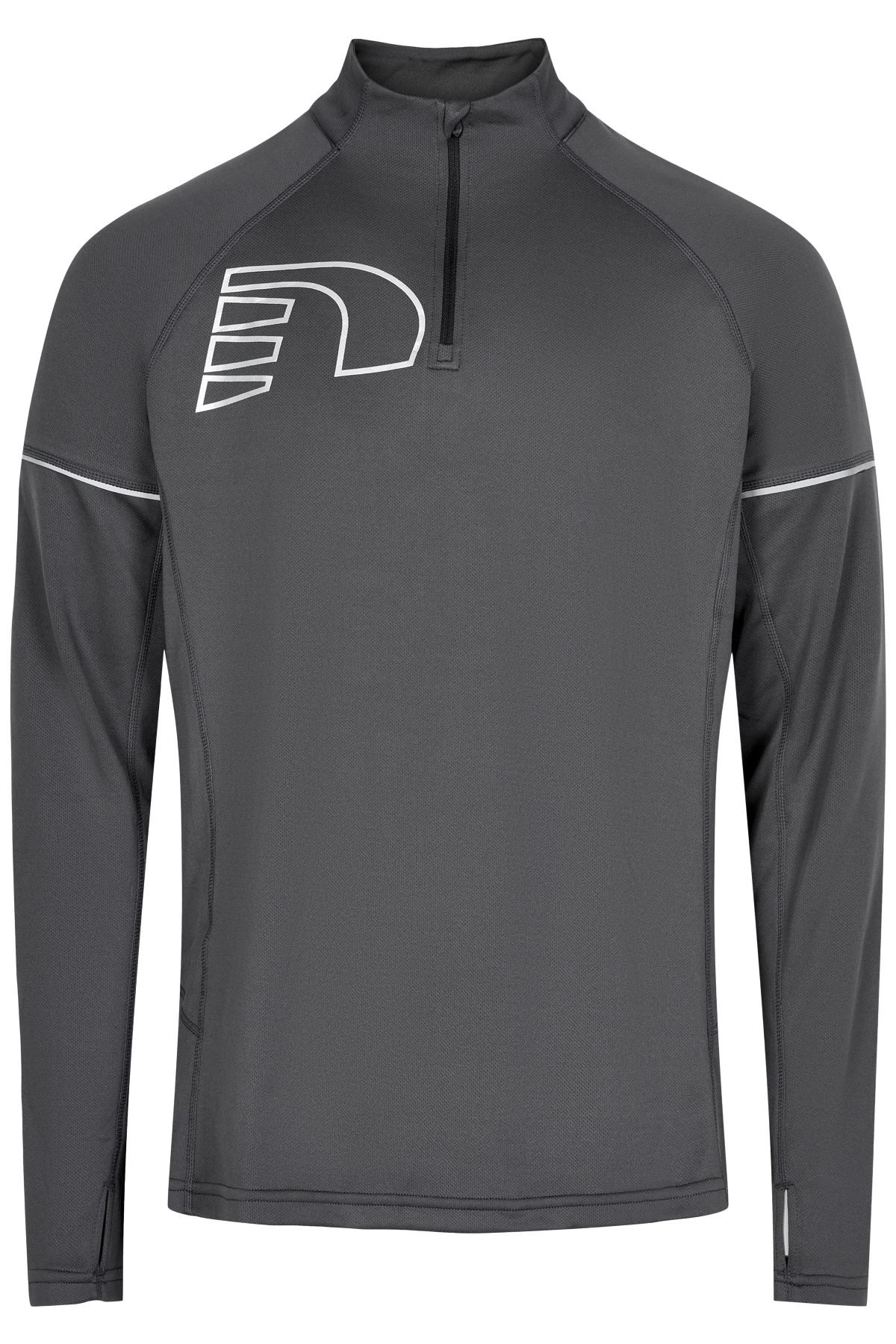 Newline Core Zip Neck Shirt (Titanium)