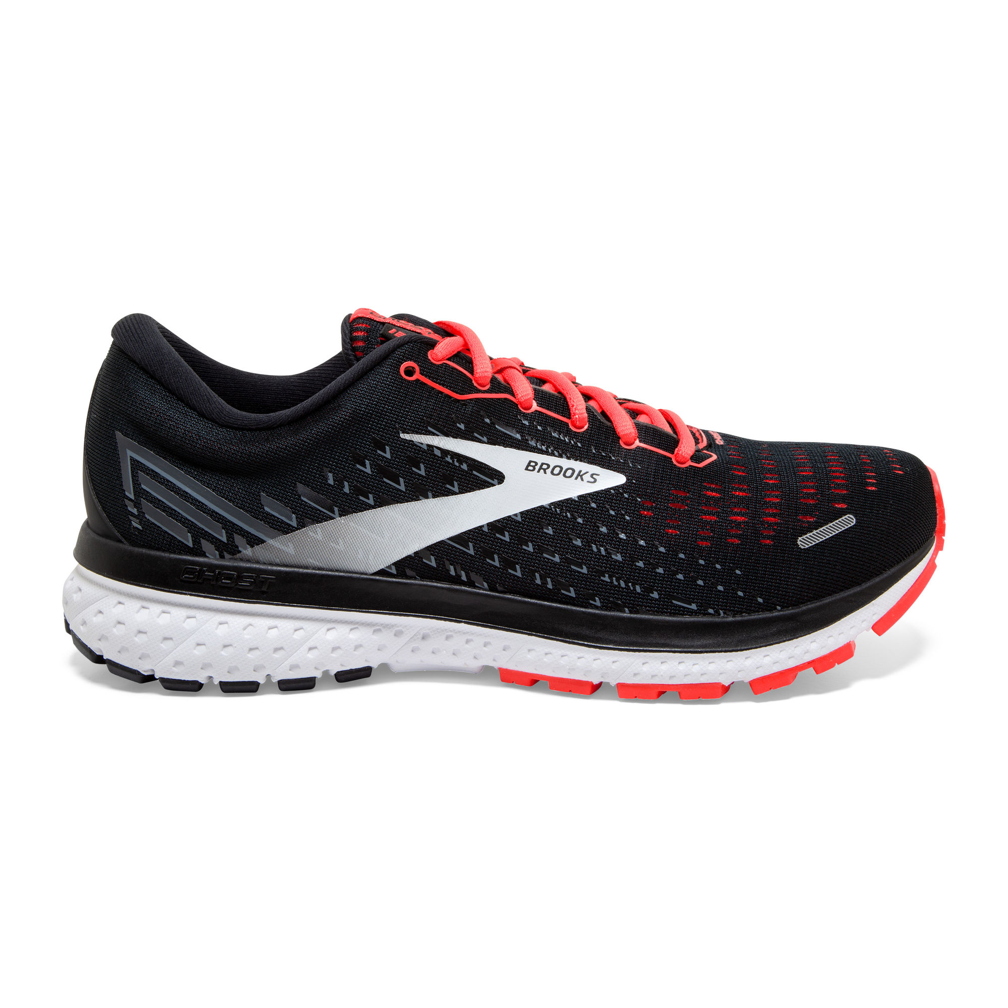 Brooks Lady Ghost 13 B (Schwarz Orange)