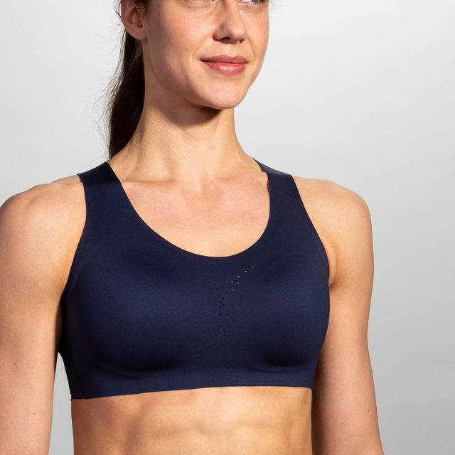 Brooks Dare Crossback Run Bra (Blau)