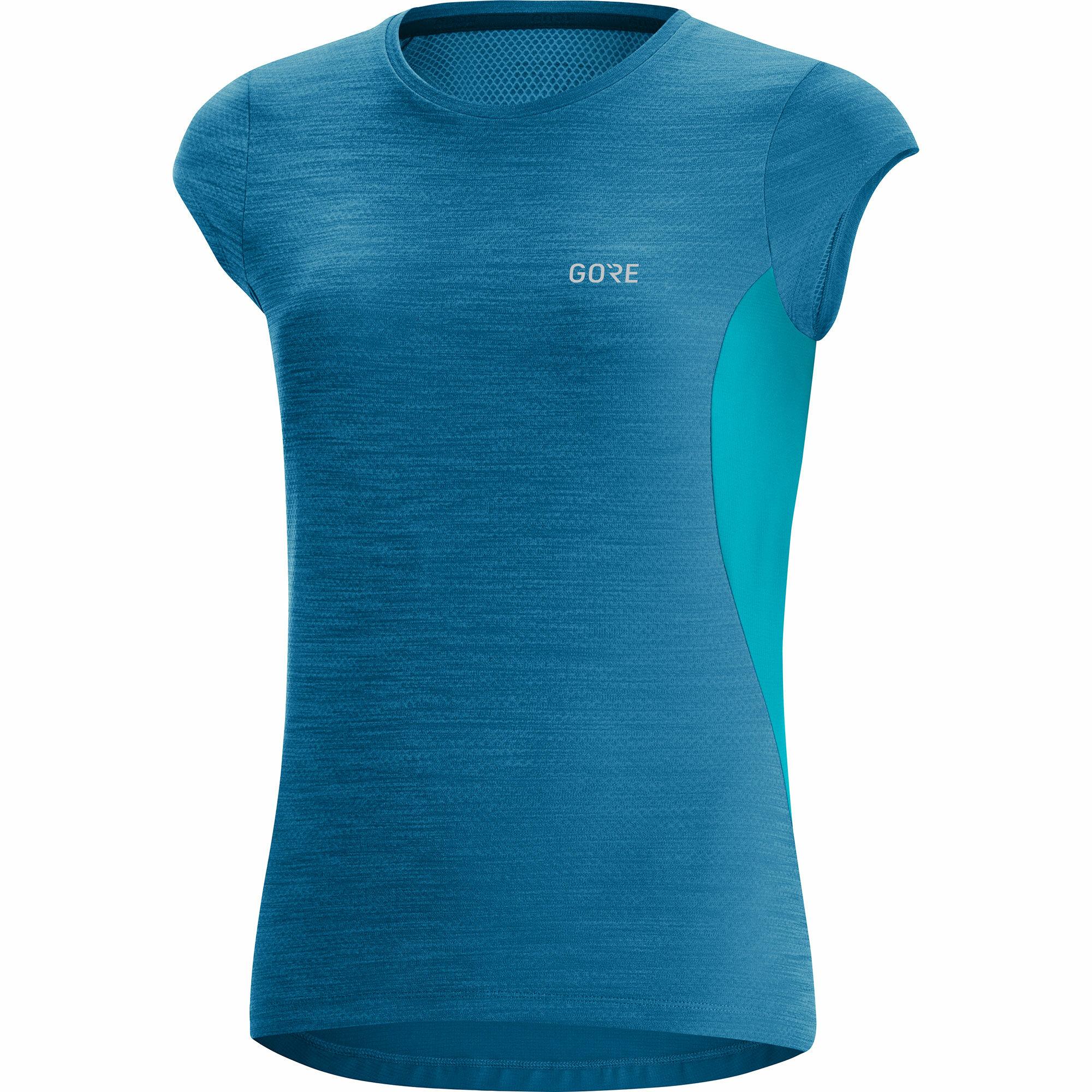 Gore Lady R3 Shirt (Sphere Blue Scuba Blue)
