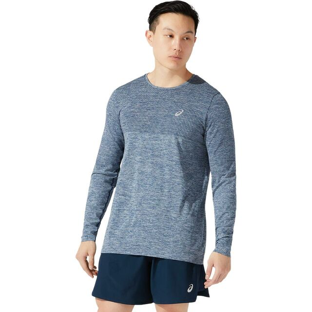 Asics Race Seamless LS (French Blue)