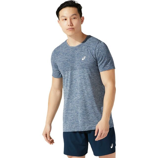 Asics Race Seamless SS (French Blue)