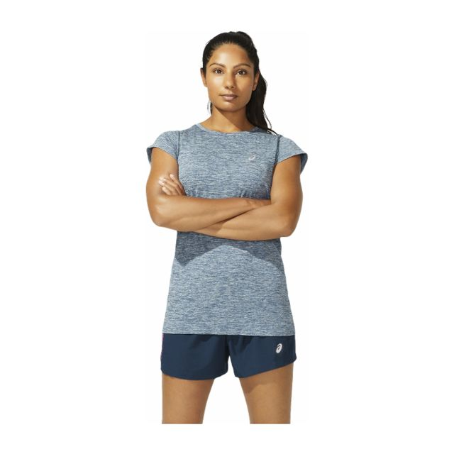 Asics Lady Race Seamless SS (French Blue)