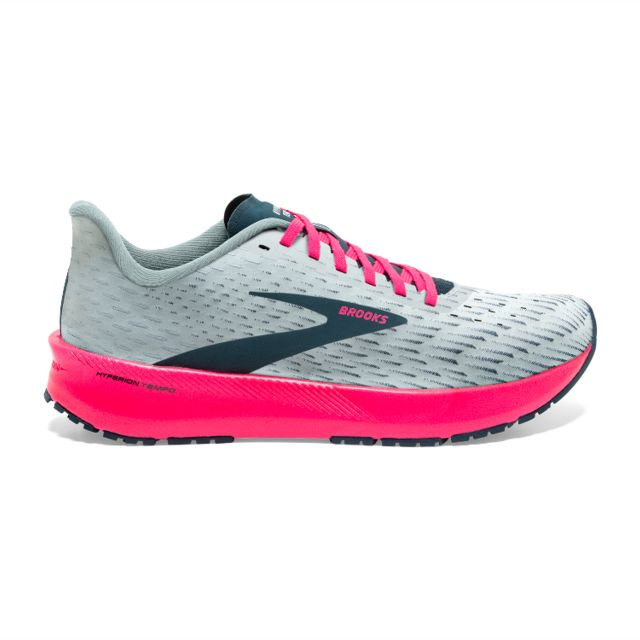Brooks Lady Hyperion Tempo (Grau Pink)