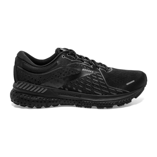 Brooks Lady Adrenaline GTS 21 Black (Black)