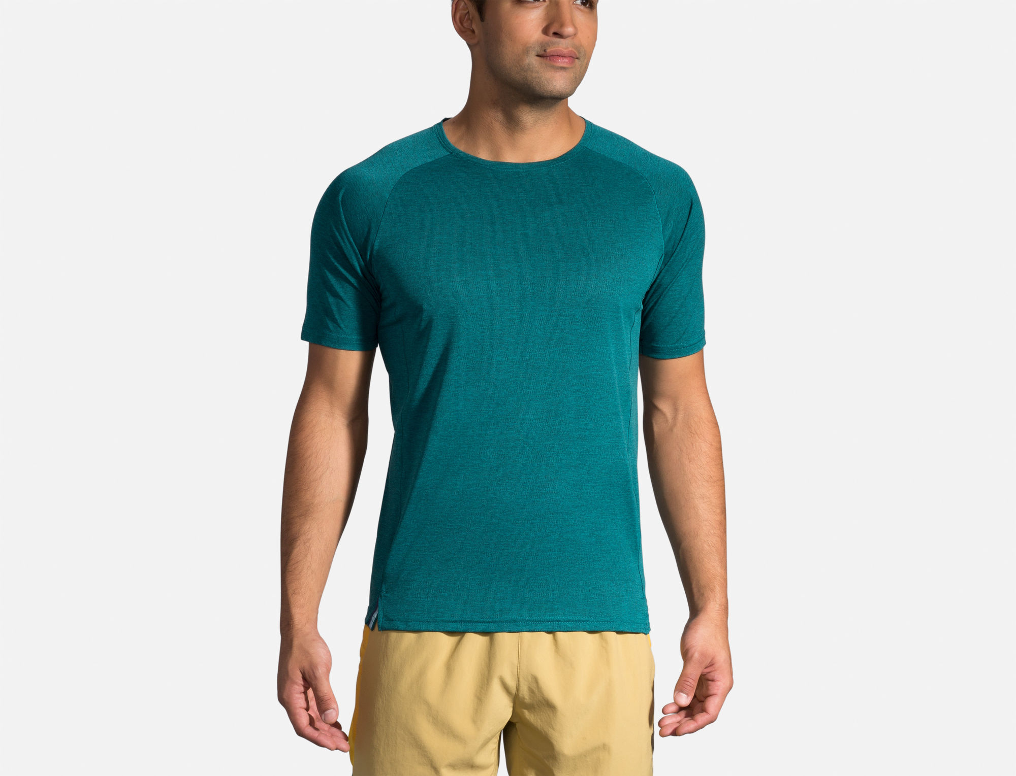 Brooks Ghost Short Sleeve (Grün)