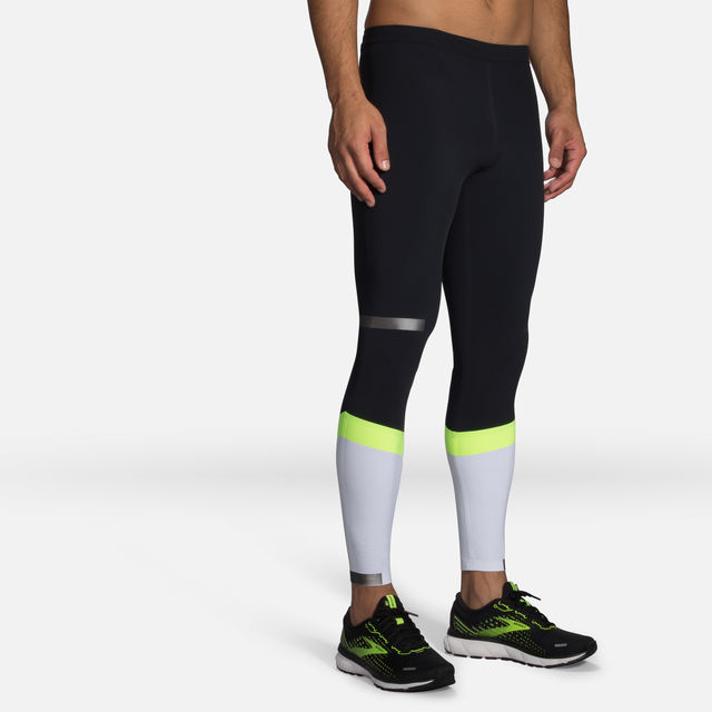 Brooks Carbonite Tight (Schwarz Weiß Neon)
