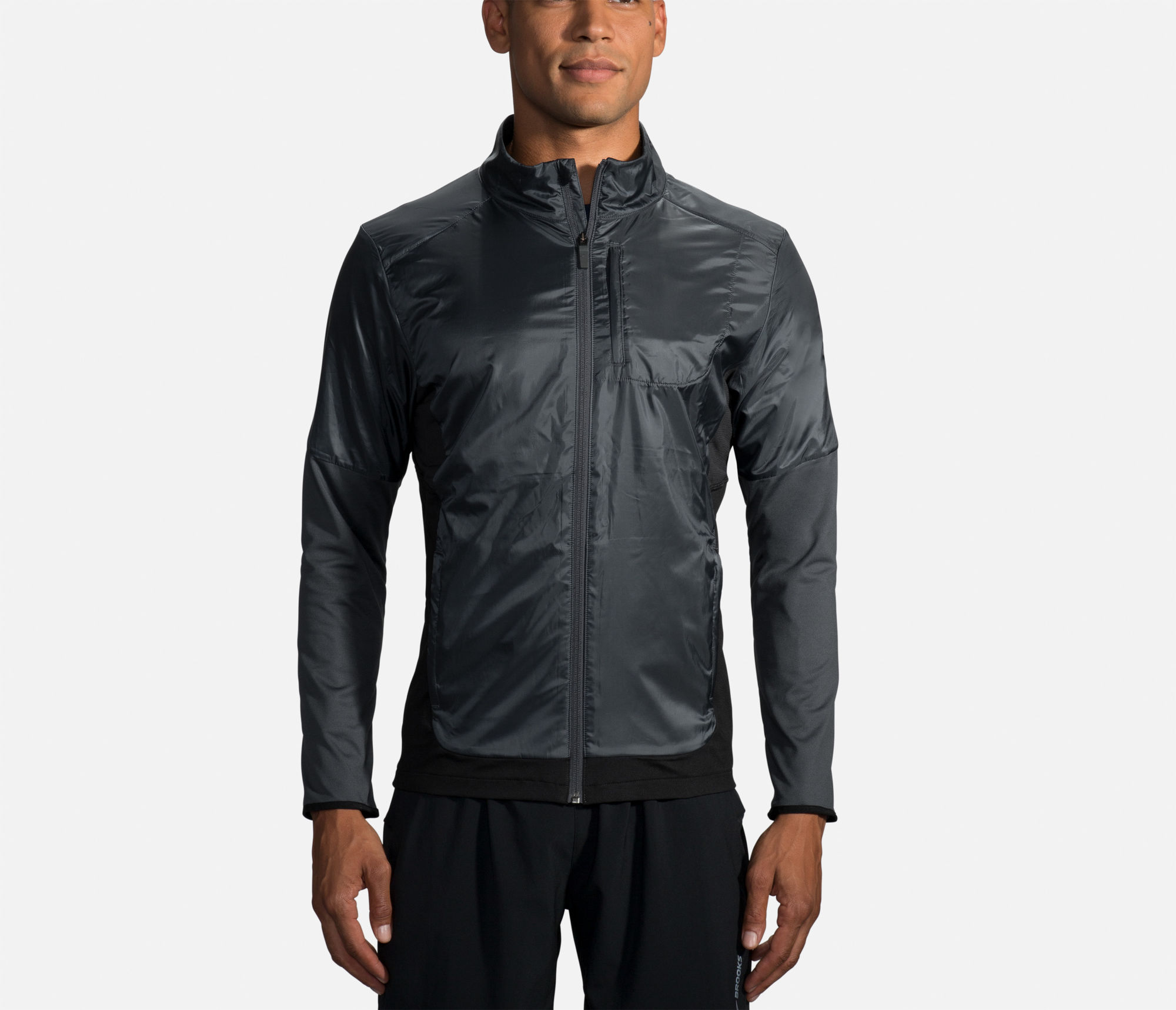 Brooks Fusion Hybrid Jacket (Schwarz)