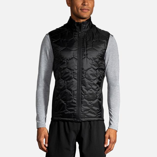 Brooks Shield Hybrid Vest (Schwarz)