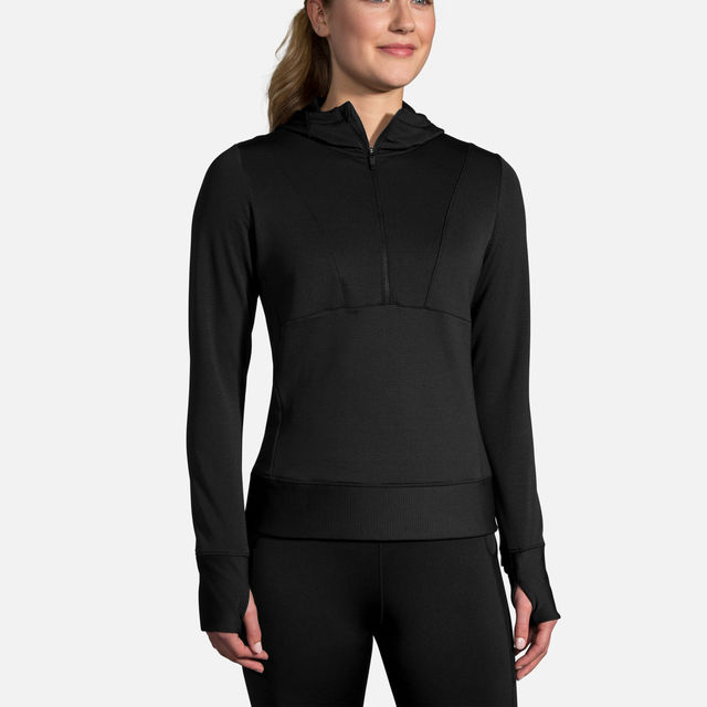 Brooks Lady Notch Thermal Hoodie
