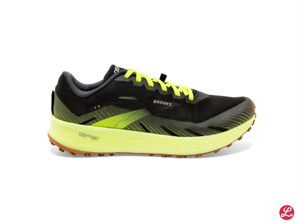 Brooks Catamount (Black/Yellow)