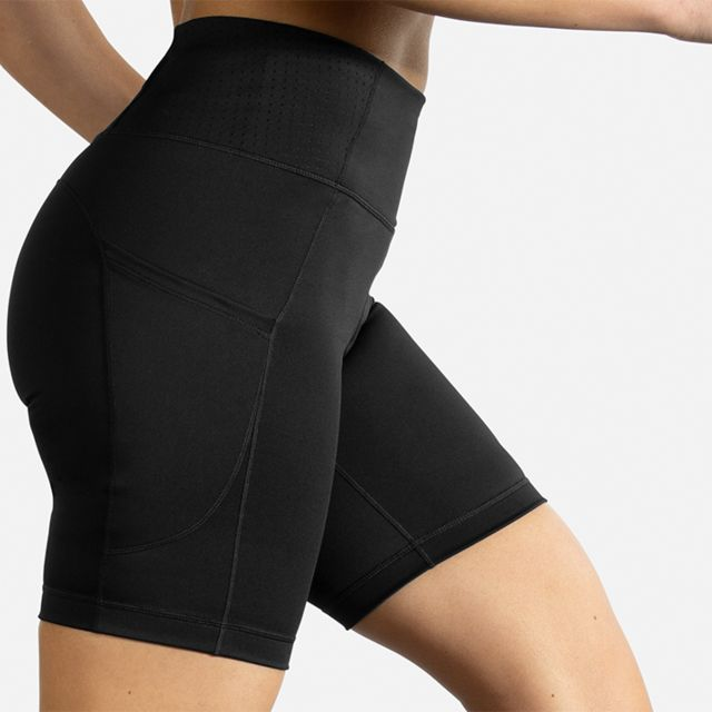 "Brooks Lady Method 8"" Short Tight"